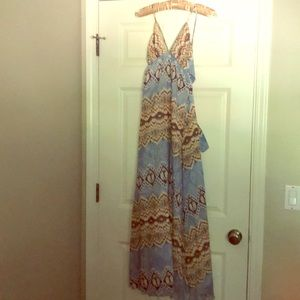Gorgeous Anthropologie maxi dress